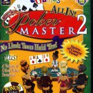 eGames All In! Poker Master 2 PC-CD Windows 98/ME/2000/XP - NEW in SLV