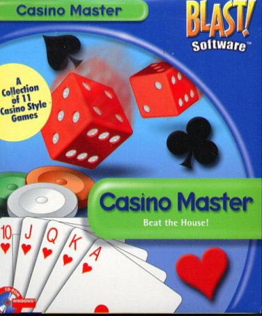 BLAST! CASINO MASTER CD-ROM for Windows - New in SLV