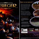 BESIEGER PC CD-ROM for Windows 98-XP - NEW in BOX