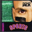 You Don't Know Jack Sports CD-ROM Win/Mac - NEW in SLV