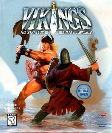 Vikings: The Strategy of Ultimate Conquest CD-ROM for Win/Mac - NEW in SLV