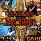 Legends of the World: 4 EPIC Games PC-CD for Windows XP/Vista/7 - NEW DVD BOX