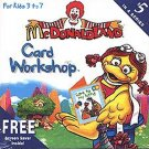 McDonaldland: Card Workshop (Age 3-7) CD-ROM for Windows 95/98 - NEW in SLEEVE