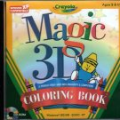 Crayola Magic 3D Coloring Book (Ages 2+) PC-CD for Windows 95-XP - NEW in JC