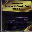Antique & Classic Cars Vol 3 PC CD-ROM - NEW in SLEEVE