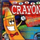 Crazy Crayon CD-ROM for Windows 3.1/95 - NEW in JC