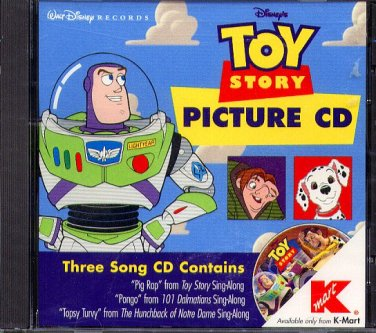 Disney's Toy Story Picture CD - NEW Sealed JC