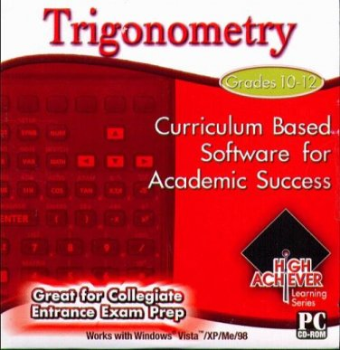 High Achiever Trigonometry (Grades 10-12) CD-ROM for Win - NEW in SLEEVE