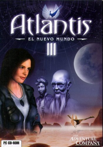 ATLANTIS III: El Nuevo Mundo (Spanish) PC CD-ROM - NEW CDs in SLEEVE