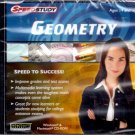 SpeedStudy Geometry (Ages 14+) PC/MAC CD-ROM - NEW in JC