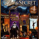 Hide & Secret: Bonus Edition 4 Pack PC-CD Windows XP/Vista/7 - NEW in DVD BOX