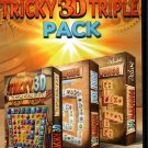 Tricky 3D Triple Pack (PC,2013) CD for Windows XP/Vista/7/8 - NEW in DVD BOX