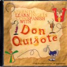 Learn Spanish with Don Quixote CD-ROM for Win/Mac/OS2 - NEW CD in SLEEVE