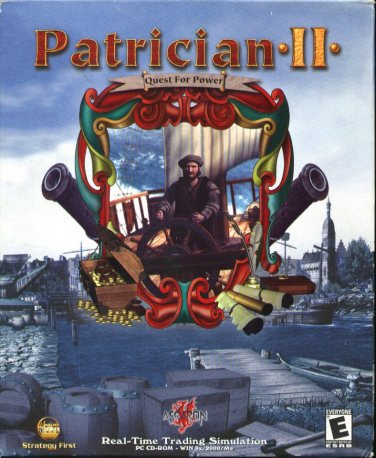PATRICIAN II - Quest for Power CD-ROM Windows 95/98/Me/2000 - NEW CD in SLEEVE