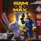 Sam & Max: Season One: Episodes 1-3 CD-ROM for Windows XP/Vista - NEW Jewel BOX