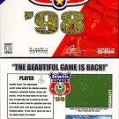 Sensible Soccer '98 CD-ROM for Windows 95 - NEW CD in SLEEVE
