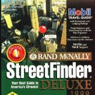 StreetFinder Deluxe 1999 (3CDs) for Windows 95/98/NT - NEW CDs in SLEEVE