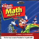 Reader Rabbit's Math Ages 4-6 CD-ROM for Win/Mac - NEW CD in SLEEVE
