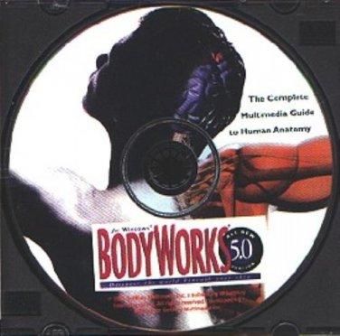 BodyWorks v5.0 CD-ROM for Windows - NEW CD in SLEEVE