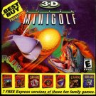 3-D ULTRA MINIGOLF + BONUS PC-CD for Windows 98/95 - NEW CD in SLEEVE