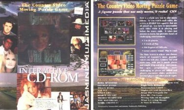 Country Vid Grid CD-ROM for Windows 3.1/95/98 - NEW CD in SLEEVE