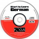 Start to Learn German CD-ROM for Windows - NEW CD in SLEEVE
