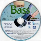 easy BASS (Guitar Lessons) 2004 CD-ROM for Win/Mac - NEW CD in SLEEVE