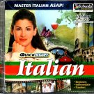 QuickStart Italian (2 AUDIO CD SET) - NEW CDs in SLEEVE
