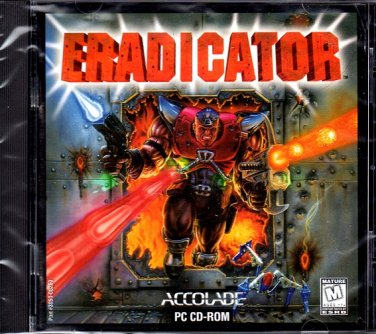 ERADICATOR CD-ROM for DOS/W95/98 - NEW CD in SLEEVE