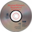 Merriam-Webster's Biographical Dictionary CD-ROM for Win/Mac - NEW CD in SLEEVE