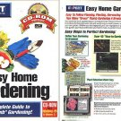 Easy Home Gardening CD-ROM for Windows - NEW CD in SLEEVE