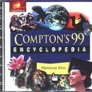 Compton's 99 Encyclopedia CD-ROM for Windows 95/98 - NEW CD in SLEEVE