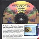 20th Century Video Almanac: Sports CD-ROM for DOS - NEW CD in SLEEVE