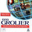 1999 Grolier Multimedia Encyclopedia PC-CD for Windows - NEW CD in SLEEVE