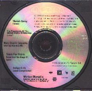 CD EXTRA: Mariah Carey & Others WIN/AUDIO - NEW CD in SLEEVE