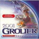 2001 Grolier Multimedia Encyclopedia CD-ROM for Windows - NEW CD in SLEEVE