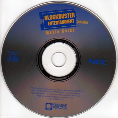 Blockbuster Entertainment Movie Guide 2nd Edition PC-CD Windows - NEW in SLEEVE