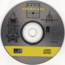 Americans in Space CD-ROM for Windows - NEW CD in SLEEVE