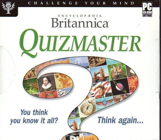 Encyclopedia Britannica Quizmaster CD-ROM for Windows - NEW CD in SLEEVE