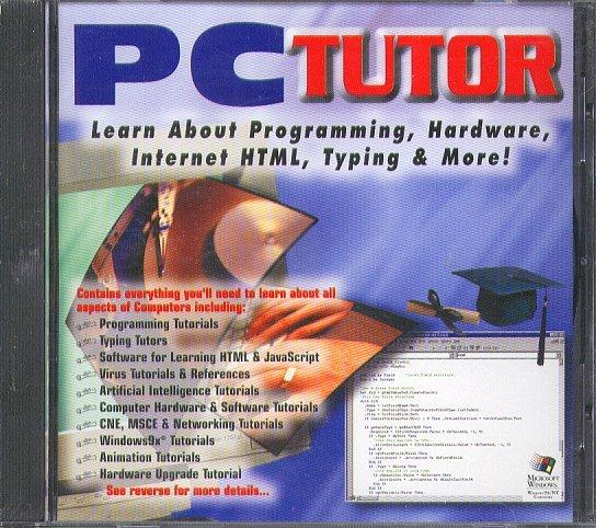 PC TUTOR CD-ROM for Windows 95/98/NT - NEW CD in SLEEVE