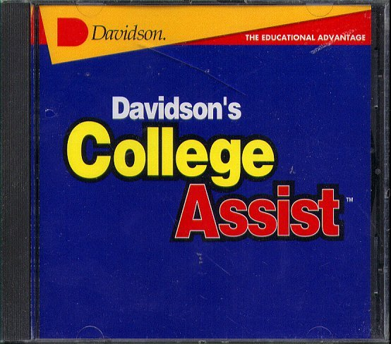 Davidson's College Assist CD-ROM for Windows - NEW CD in SLEEVE
