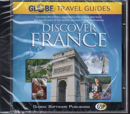 Discover France CD-ROM for Windows 95-XP - NEW CD in SLEEVE