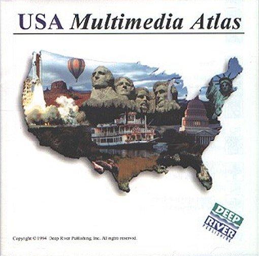 USA Multimedia Atlas (2CDs) for Windows - NEW CDs in SLEEVE