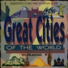 Great Cities of the World Volume 1 CD-ROM for Windows - NEW CD in SLEEVE