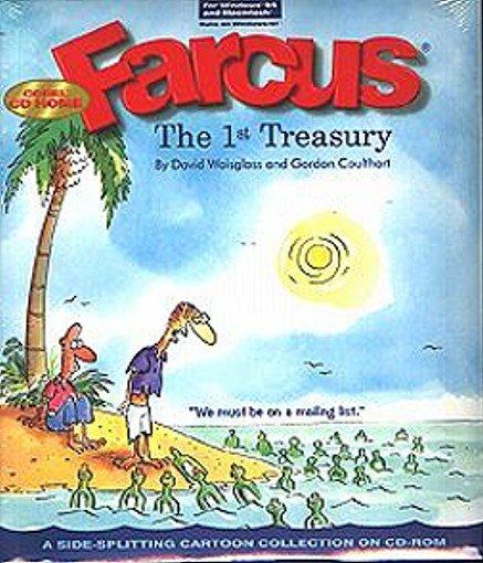 Farcus: The 1st Treasury (Humerous Cartoons) CD-ROM for Win/Mac-NEW CD in SLEEVE