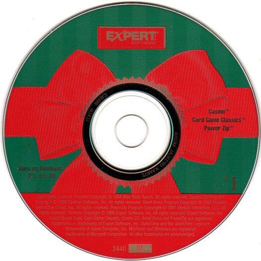 Casino, Card Game Classics & PowerZip CD-ROM for Windows - NEW CD in SLEEVE