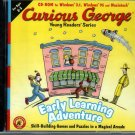 Curious George: Early Learning Adv. (Ages 2-5) CD-ROM for Win/Mac -NEW Sealed JC