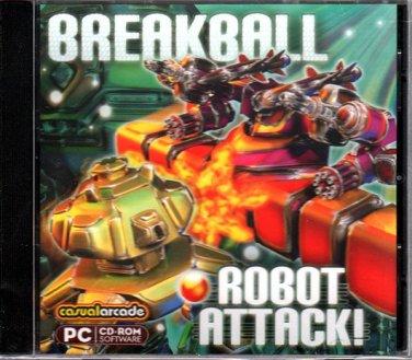 Breakball: Robot Attack! (PC-CD, 2007) - NEW Sealed Jewel Case