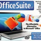 Office Suite LE DVD-ROM Windows XP/Vista/7 - NEW in Jewel Case