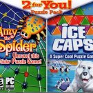 2 for You! Puzzle Pack: Amy the Spider & Ice Caps PC-CD Windows - NEW Sealed JC
